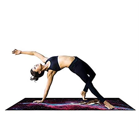 Feccile - Esterilla de Yoga Antideslizante Multiusos con ...