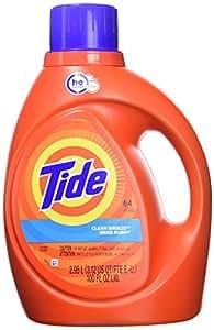 Amazon Com Tide He Turbo Clean Liquid Laundry Detergent