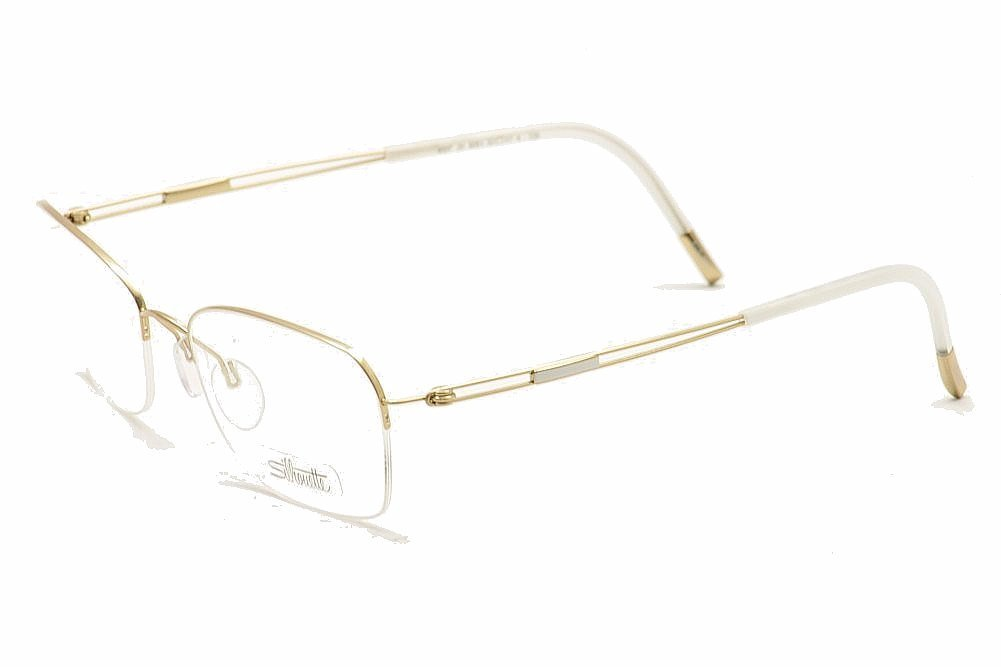 Silhouette Eyeglasses TNG Nylor (4337-6051 gold / clear demo lens 52mm-17mm-135mm, one size)