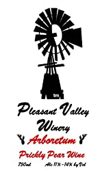 NV Pleasant Valley Arboretum Prickly Pear Wine 750 mL
