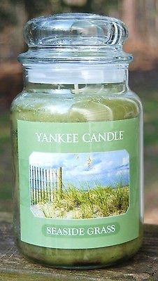 (Yankee Candle 22 oz SEASIDE GRASS Large Housewarmer Jar)