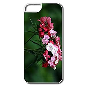IPhone 5S Case, Beauty Nature Cases For IPhone 5/5S - White Hard Plastic