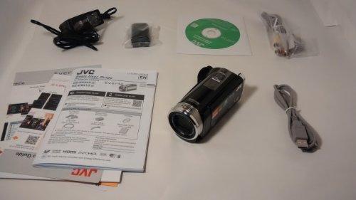 JVC GZEX355BUSM 2.5 Megapixel 1080p HD 16GB Wi-Fi Everio(R) GZEX355BUS Digital Video Camera