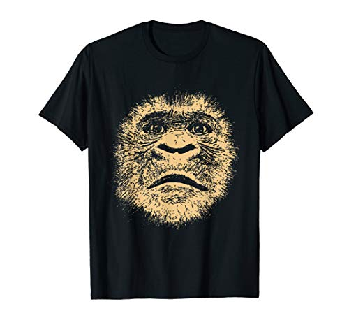 Chimpanzee Face Shirt Family Set Funny Gift for Monkey Lover -