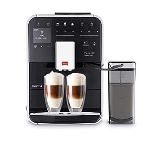 Melitta Barista TS Smart, Noir, F850-102, Machine à Café, Expresso et Boissons Chaudes Automatique, Récipient à Lait…