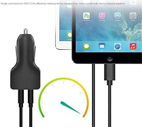 NUO-Z Caricabatteria da auto USB essenziale Ricarica rapida compatibile 24W / 4.8A