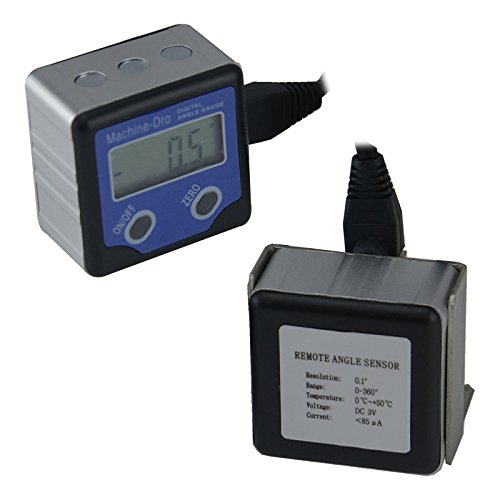 Angle Tilt Sensor/Inclinometer with Remote Display- Pendulum type by Machine DRO (Image #3)