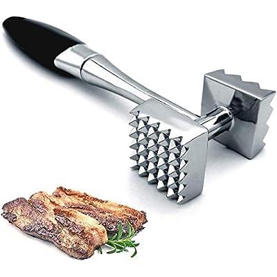 Large Aluminium Meat Mallet Tenderizer Steak Beef Chicken Metal Hammer Kitchen