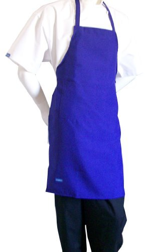 chefskin-adult-apron-purple-ultra-lightweight-cool-fresh-very-comfortable-center-pocket-and-long-tie