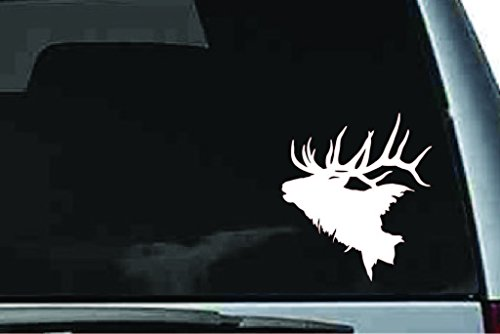 - Picniva elk Head sty2 Car Truck Notebook Vinyl Decal Sticker Vinyl Decal Home Dicor