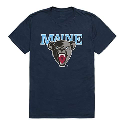 W Republic UMaine University of Maine Black Bears Freshman Tee T-Shirt Navy Large