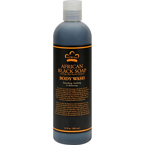 Nubian Heritage African Black Body Wash, 13 oz Pack Of 3