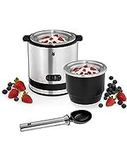 WMF KÜCHENminis® 3in1 ijsmachine, ijsbereider voor frozen yoghurt, sorbet en ijs, koelelement 300 ml, 30-minutentimer, frozen yoghurtmachine