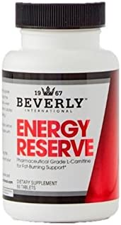 Beverly International Energy Reserve, 60 Tablets. Get Your Fat-Loss Diet Working Again and Make Cardio Feel Easier.