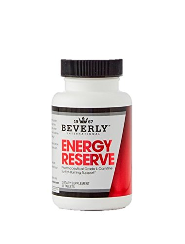 Beverly International Energy Reserve, 60 tablets. Get your fat-loss diet working again and make cardio feel easier. (Beverly International Nutrition Supplements)