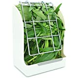 RUBYHOME Hay Feeder/Rack Less Wasted Hay - Ideal for Rabbits/Guinea Pigs/Chinchillas/Hamsters - Keeps Grasses Clean and…