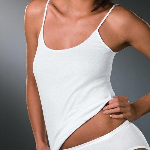 Naturana Pack de 5 Camiseta de tirantes deportiva 100% algodón 802601