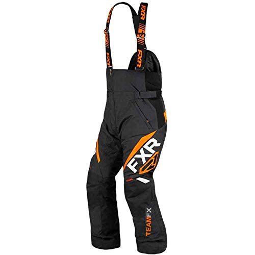 FXR Mens Team FX Pant (Black/Orange, 3X-Large) (Pants Snowmobile Fxr)