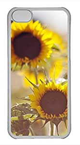 iPhone 5c case, Cute Sunflowers 20 iPhone 5c Cover, iPhone 5c Cases, Hard Clear iPhone 5c Covers
