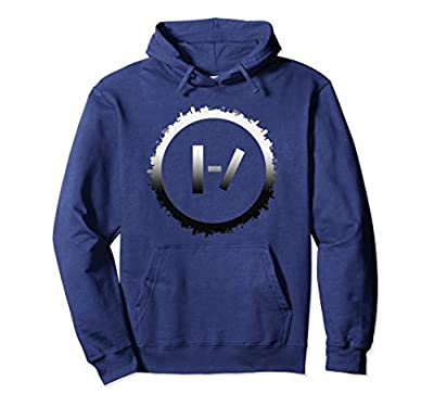 Best circle Silhouette Planet Black White Earth Hoodie
