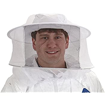 Beekeeping Veil with Hat quick grab /& go one piece construction