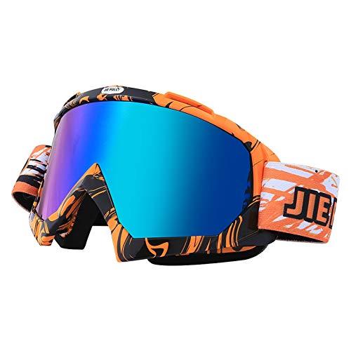 Blisfille Gafas Deporte Chica Gafas de Seguridad Soldador,Naranja Negro: Amazon.es: Deportes y aire libre