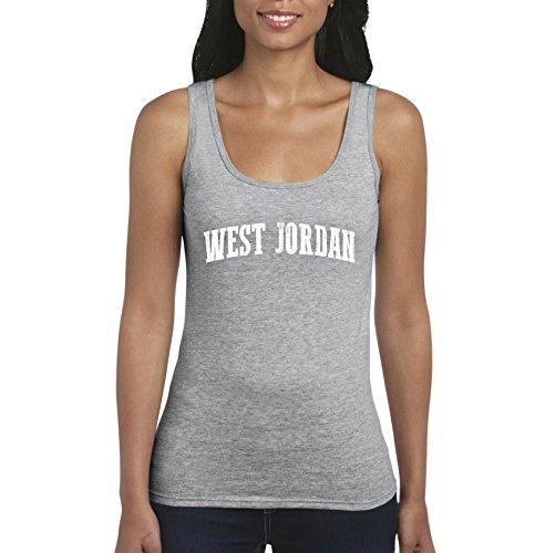 West Jordan UT Utah Salt Lake City Map Home Of Aggies Utes University Of Utah Womens Tops ()