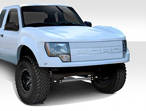 Duraflex Off Road Raptor Front End Conversion - 3 Piece Body Kit - Fits Ford Ranger - 1993 1994 1995 1996 1997 1998 1999 2000 2001 2002 2003 2004 2005 2006 2007 2008 2009 2010 2011 (ED-CZU-456) - Ford Ranger Fiberglass Fenders