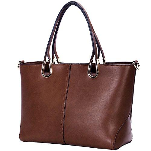 Designer Handbags for Women,Casual Large Tote Bag,YAAMUU Work Crossboday Shoulder Bags[L0005/coffee]