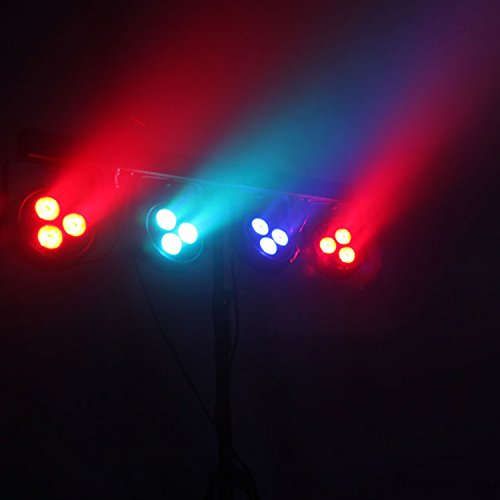 Dragonx 4 Bar Led Mobile Dj Stage Lighting Packages
