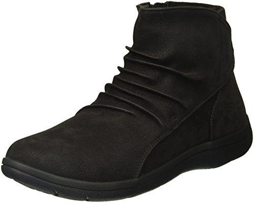 Skechers Women's Lite Step-Tricky Ankle Bootie Black
