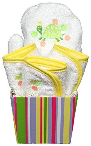 Rain Bubble Bath (Raindrops Bubbles N' Stripes Bath Mit Set, Yellow)