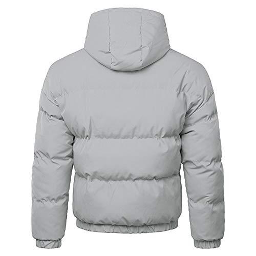 À Hommes Grand Blouse Garçons Parka Zipper Doudoune Taille Manteaux Outwear Top Chaud Manteau Luckycat Veste Vestes Veste Veste Matelassée Hiver Gris Capuche D'hiver uZTXwPklOi