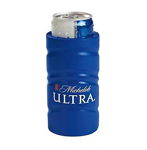 mich-ultra-slim-line-can-beer-coozie-holder-huggie-coolie-michelob-ultra