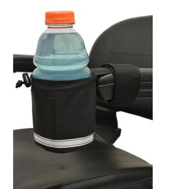 E-Wheels Mobility Scooters Polyester Made Cup Holder - Transparent in Color