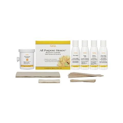 GiGi All Natural Honee Formula Face Hair Removal Kit -