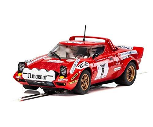 (Scalextric Lancia Stratos Tour de Corse Rally de France 1975 1:32 Slot Race Car C3930)