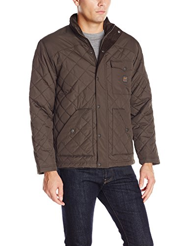 Walls Men's Brownwood Ranch Nylon Jacket, Dark Walnut, (Mens Outerwear Nylon Jacket)