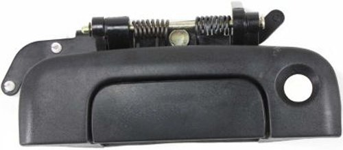 CPP Textured Black Rear Door Handle w/ Keyhole for Town & Country, Voyager, Caravan