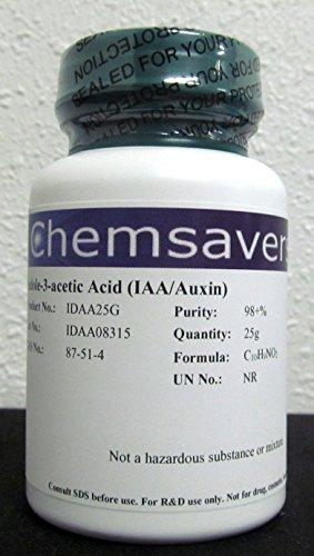 - Indole-3-acetic Acid (IAA/Auxin), 98+%, 25g