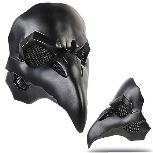Overwatch Reaper Adult Cosplay Mask 1:1 Costume Props Black Doctor Ravens Helmet Game Anime Costume Accessories -