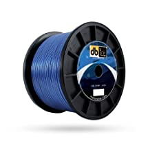 DB Link SFSW10BL100Z Strandflex, Tm Blue Speaker Wire, 10 Gauge, 100-Feet