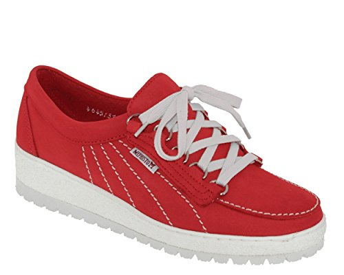 7103 Stringate 848 Donna Scarpe rouge Lady Red Mephisto Twq5ZxzfUg