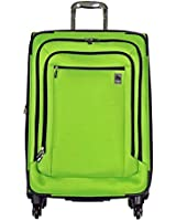 """Delsey Air Spree 25"""" Expandable Spinner Suiter Trolley Luggage (Lime Green)"""