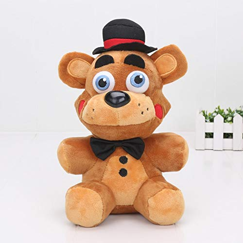PampasSK Movies & TV - 5pcs/lot 25cm Horror Vediogame Five Nights at Freddy's FNAF Limited Edition Toy Freddy Bear Vedio Game Plush Doll Toys 1 PCs