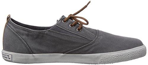 s.Oliver 13603 - zapato oxford de lona hombre gris - Grau (Grey 200)
