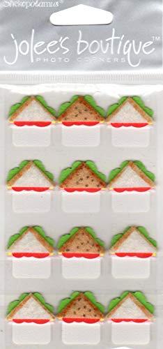 (Jolee's Boutique SPJA022 Sandwich Express Photo Corners Scrapbook Stickers)