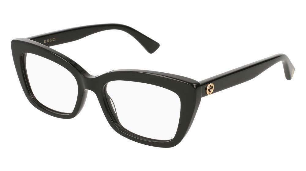 Eyeglasses Gucci GG 0165 O- 001 BLACK / by Gucci
