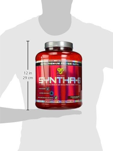BSN-SYNTHA-6-Protein-Powder-Whey-Protein-Micellar-Casein-Milk-Protein-Isolate-Flavor-Chocolate-Milkshake-48-Servings