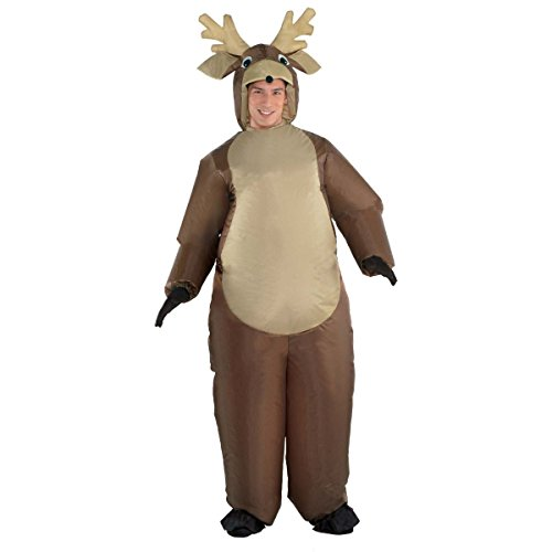 Inflatable Deer Costume (Inflatable Reindeer Costume - Adult)